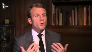 """""""La compétitivité repart, on redevient attractif"""" pour Emmanuel Macron"""