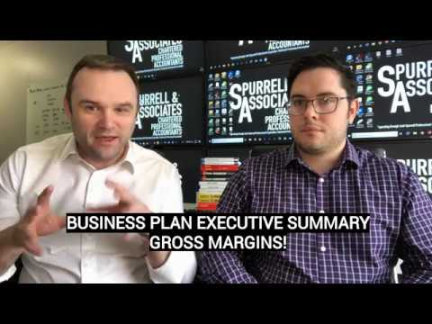 Business Plan Executive Summary Gross Margins
