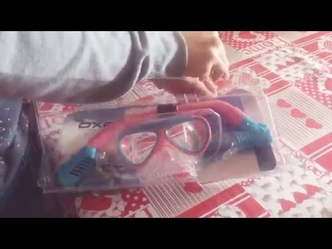 UNBOXING SET OXA per bambini - maschera e boccaglio • OkReview