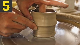 5 Relaxing Clay Pottery Makings