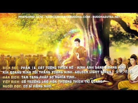 Phẩm 16. Cát Tường Thiên Nữ - Kinh Ánh Sáng Hoàng Kim
