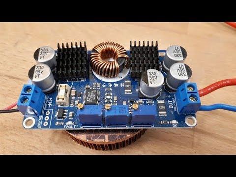 BANGGOOD How to use LTC3780 DC 5V 32V To 1V 30V 10A Adjustable Automatic Step Down Regulator Module