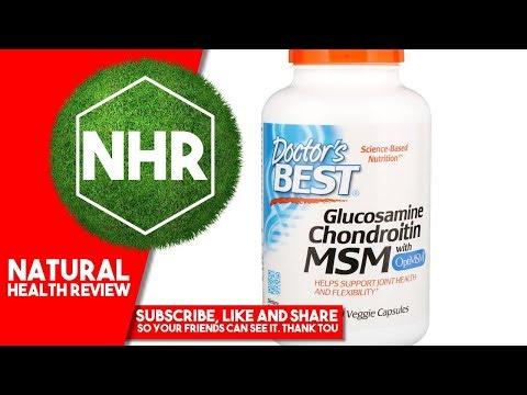 Doctor's Best, Glucosamine Chondroitin MSM with OptiMSM, 240 Veggie Caps