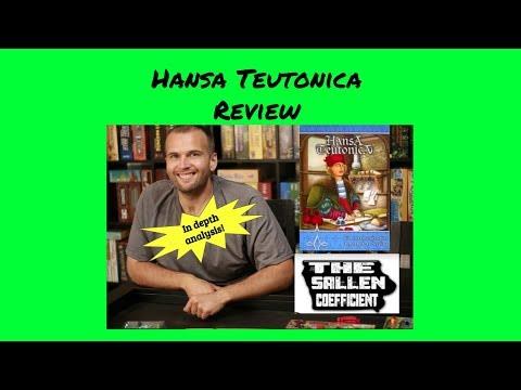 Sallen Coefficient of Hansa Teutonica