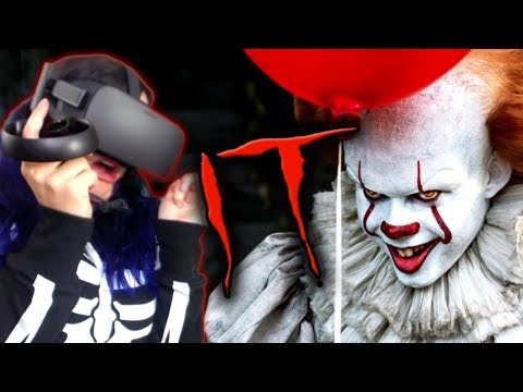 I HATE CLOWNS!!   IT: Float - A Cinematic VR Experience REACTION