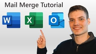 How to Mail Merge using Word, Excel, & Outlook - Office 365