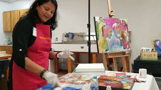 Hiral Joshi and her Abstract Work