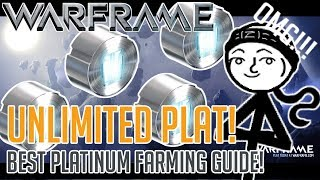Warframe   How To Get UNLIMITED Platinum!!!! (2019 BEST Plat Farming Guide)