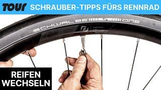 Fahrradreifen wechseln: So wechselt man den Rennradreifen richtig
