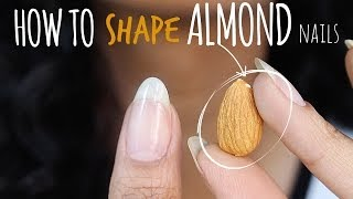 SHAPE PERFECT ALMOND NAILS | Abetweene