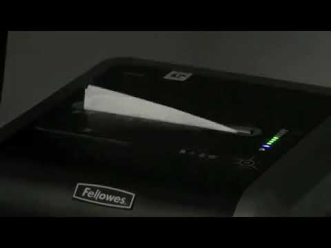 Video of the Fellowes Powershred 225i Shredder