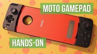 Motorola Moto Mods: Moto GamePad hands-on