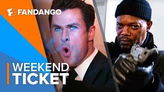 In Theaters Now: Shaft, Men in Black: International   Weekend Ticket