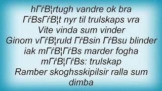 Arckanum - Skipu Vidit Dunkel Lyrics