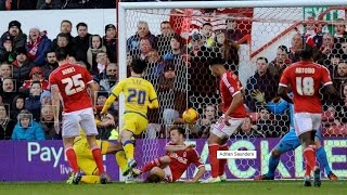 Kieran Lee goal v Nottingham Forest | Who got the final touch??