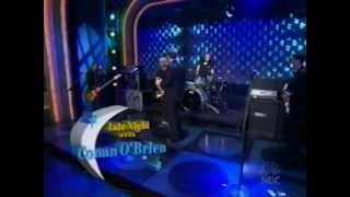 Late Night with Conan O'Brien - Everclear