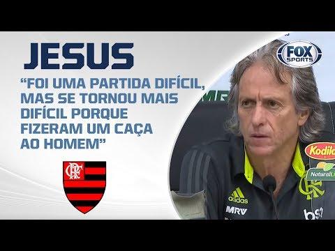 VITÓRIA SOFRIDA DO FLAMENGO CONTRA O BOTAFOGO! Jesus fala após a partida