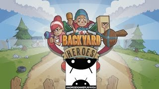 Backyard Heroes Android GamePlay Trailer (1080p) (By Kizi Games) [Game For Kids]