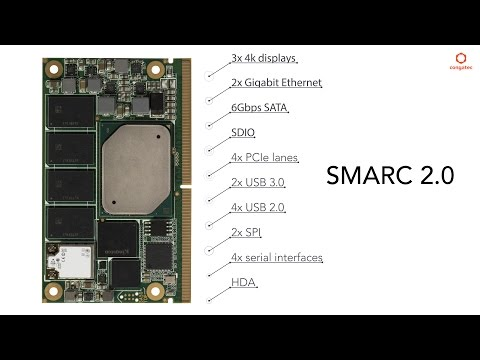 A smart start with SMARC 2.0: congatec Apollo Lake Computer-on-Modules