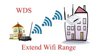 How to extend wifi range with another router wirelessly