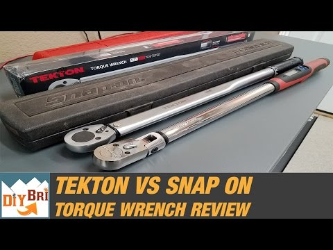 Snap On Torque Wrench Vs Tekton   Best Torque Wrench?