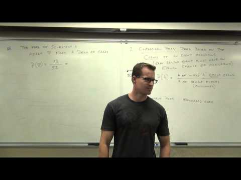 Statistics Lecture 4.2: Introduction to Probability