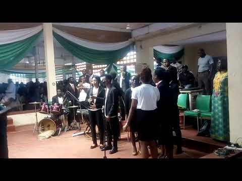 Unn anthem by UNN music department at the Opening Ceremony of Sug skill acquisition programme.