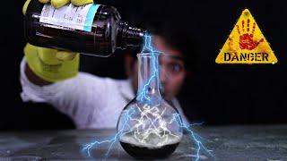 इसमें तेजाब डाला तो तूफान आ गया - Amazing Science Experiment In Hindi with Acid