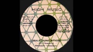 Anthoney Chambers - Jah Foundation