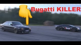 1001 HP Bugatti KILLER BMW M5 E34 FOR SALE! Epic BMW M5 E34 Turbo available in Sweden