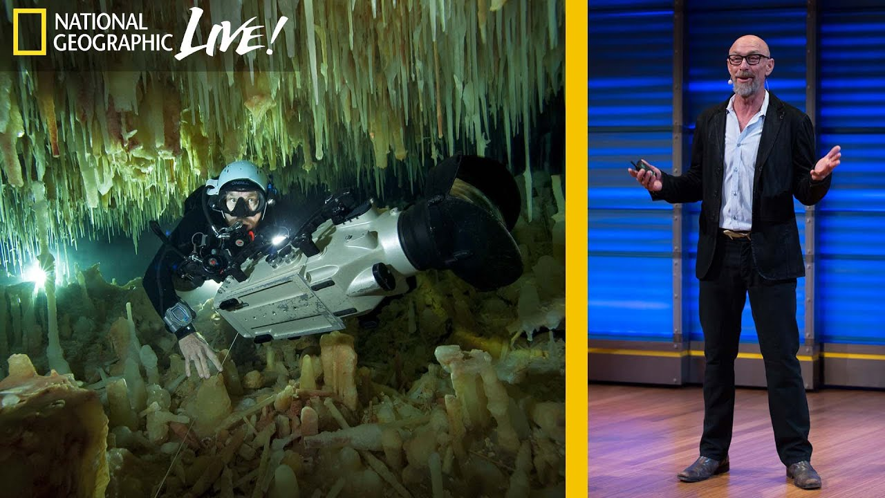 Underwater Cave Diving: Choosing Passion Over Risk | Nat Geo Live thumbnail