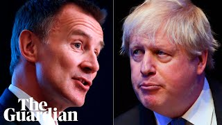 Jeremy Hunt and Boris Johnson speak at hustings in Birmingham - watch live
