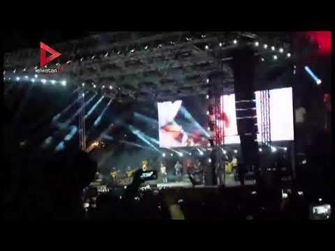 عمرو دياب يفتتح حفل الغردقة بأغنية