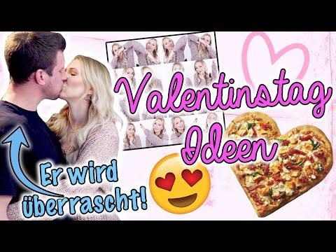 Ich ÜBERRASCHE IHN mit 3 DIY Valentinstag Ideen! EINFACH, GÜNSTIG & Süß - TheBeauty2go