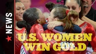 2012 U.S. Women's Gymnastics Team Wins Gold thumbnail