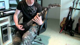 Children Of Bodom - Shovel Knockout guitar cover