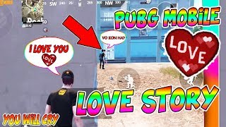 PUBG MOBILE LOVE STORY A SWEET GIRL😍😘 | PART 1 |PUBG MOBILE SHORT FILM HINDI