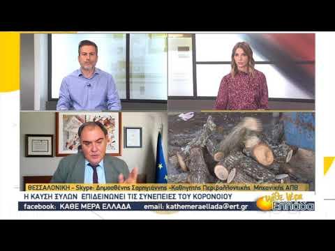 Η καύση των ξύλων επιδεινώνει τις συνέπειες του κορονοϊού | 23/10/2020 | ΕΡΤ