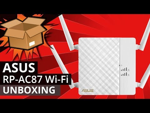 ASUS RP-AC87 Wireless Repeater UNBOXING - The BEST WIFI range extender?