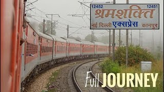 KANPUR To NEW DELHI | Shram Shakti Express Journey | Indian Railways