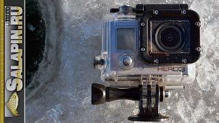 Экшен камера для рыбалки зимой