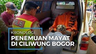 Kronologi Penemuan Mayat Wanita di Ciliwung Bogor, Terjadi Kejar-Kejaran saat Lakukan Evakuasi