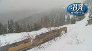 Winter Operations On Donner Pass 2010