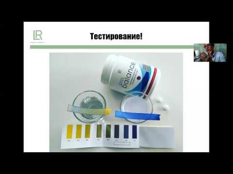Тест уровня кислотности Ph в организме