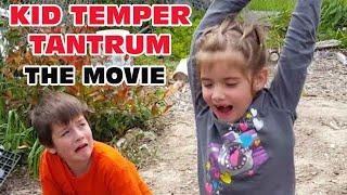 Kid Temper Tantrum Sister Smashes XboxOne The Movie [ Original ] 50k Subscribers Special