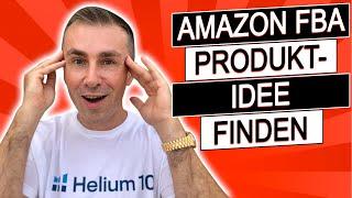 Die fortschrittlichste AMAZON FBA Produktsuche METHODE für 2021!