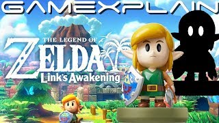 Shadow Link in Link's Awakening! - amiibo Details Revealed