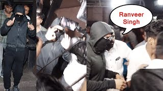 Ranveer Singh's Hide His Face & Watch Movie Simmba Normally With People At Gaiety Galaxy @Cinema
