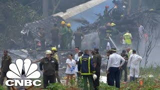 Boeing 737 Plane Crashes In Cuba | CNBC - Video Youtube