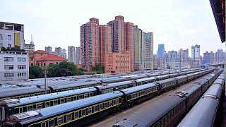 RailWay. Shanghai Train Depot / Депо поездов дальнего следования в Шанхае